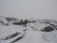 Prewinter hike up Ampersand, Ampersand Mountain photo