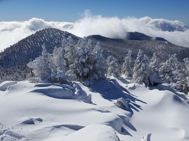 Looking south from San Jacinto Peak, Mount San Jacinto Peak
