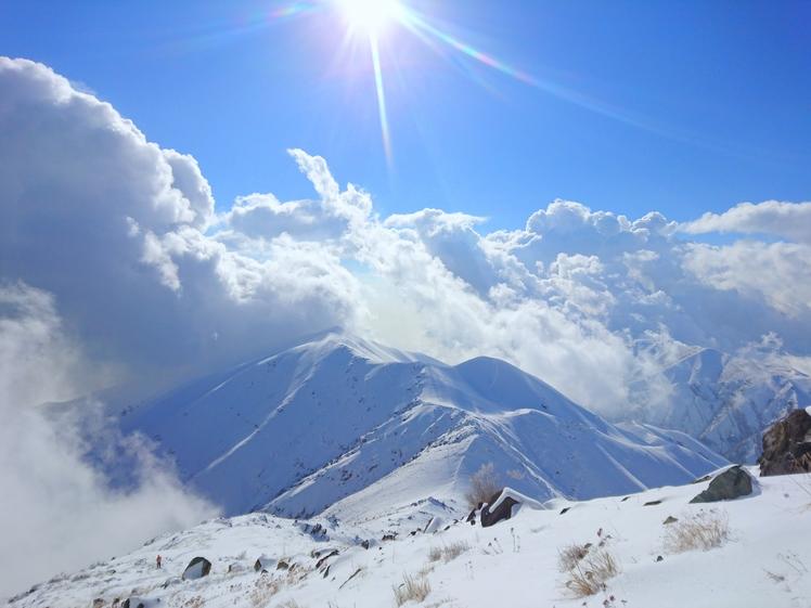 نزدیک قله دوشاخ, Doshakh