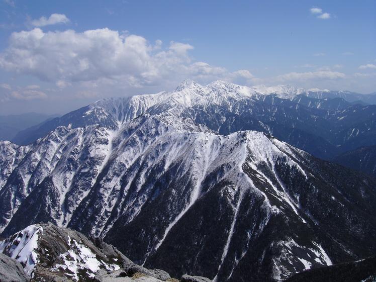 View of Kita dake from Kaikomagatake