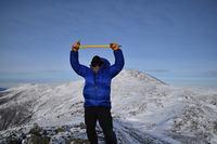 On Mt Monroe with Washington in Background, Mount Monroe photo