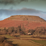Crug Hywel at sunset