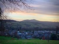Sugar Loaf mountain at sunrise, Sugar Loaf Mountain (Wales) photo