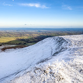 Drone view of Hay Bluff