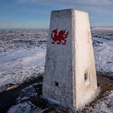Dragon trig point, Hay Bluff