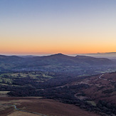 Sugar Loaf sunrise, Sugar Loaf Mountain (Wales)