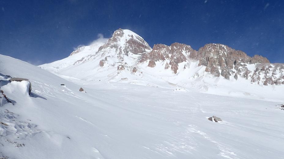 Winter Kazbek, Kazbek or Kasbek