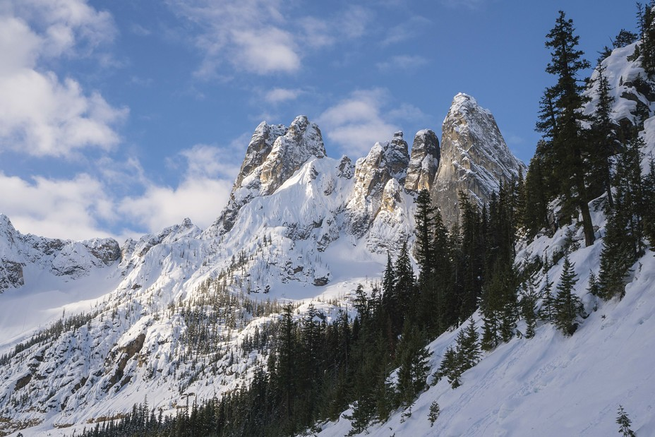 Liberty Bell Mountain weather