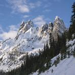 Liberty Bell, Liberty Bell Mountain