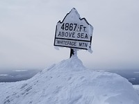 Summit in winter, Whiteface Mountain photo