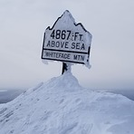 Summit in winter, Whiteface Mountain