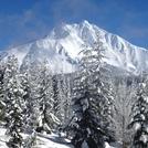 Fresh snow at Mt Jefferson