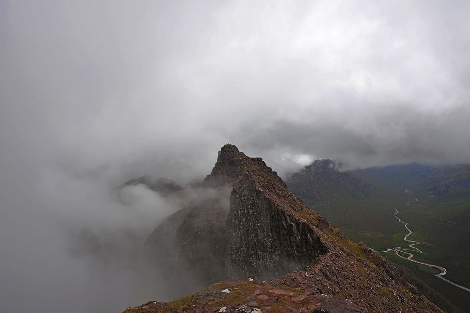 Lord Berkeley's seat, An Teallach