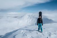 Fan Brycheiniog snow photo