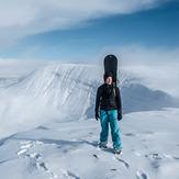 Fan Brycheiniog snow