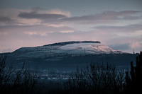 Mynydd Marchywel snow photo