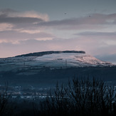 Mynydd Marchywel snow