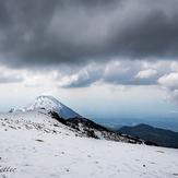 Volcan de fuego, Nevado de Colima