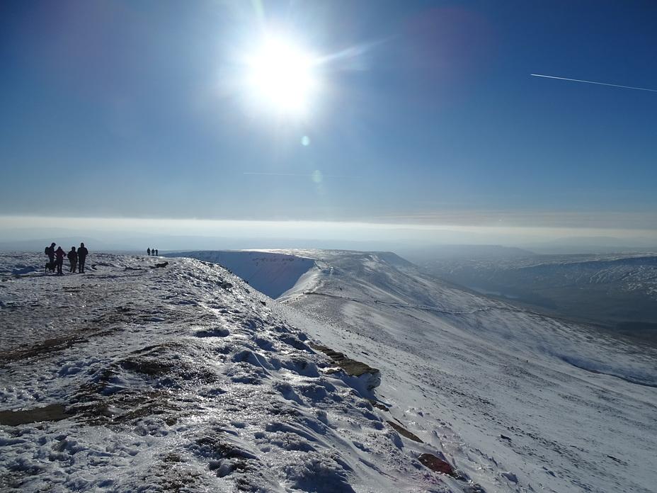 Pen Y Fan Ridge looking South