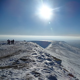 Pen Y Fan Ridge looking South