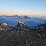 Baldy Summit Sunrise, Mount Baldy (San Gabriel Range)