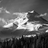 Clouds on the Mountain, Mount Hood