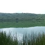 Gandochi crater lake, Tepi