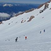 Avalanche gulch in may, Mount Shasta