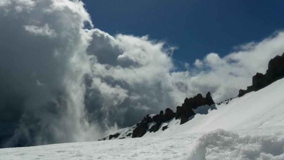 Camp, Mount Shasta