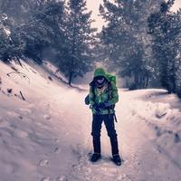 San Gabriel Peak Winter Hike photo