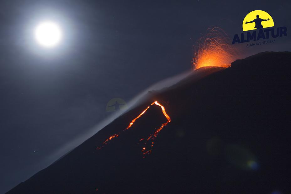 Erupción, Pacaya