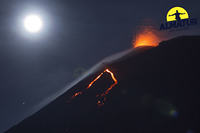 Erupción, Pacaya photo