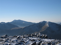 View towards Snowdon, Carnedd Llewelyn photo