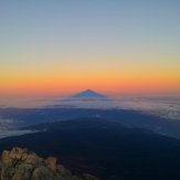 Sunrise on the top, Pico de Teide