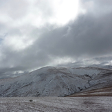 Great Dodd with light snow
