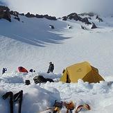 Avalanche gulch camp, Mount Shasta