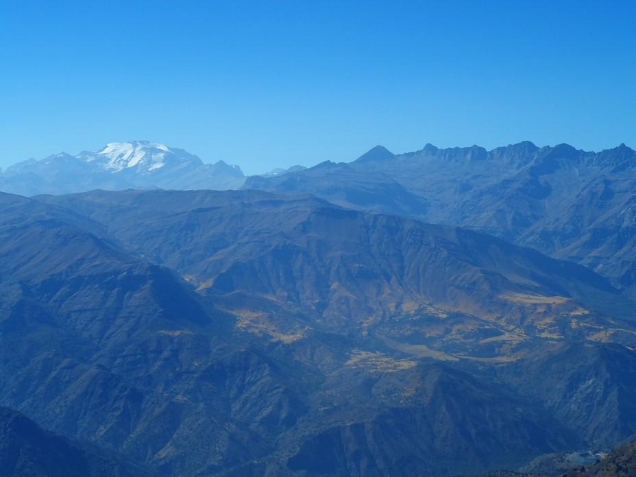 El Plomo desde Cerro La Cruz, Lagunillas