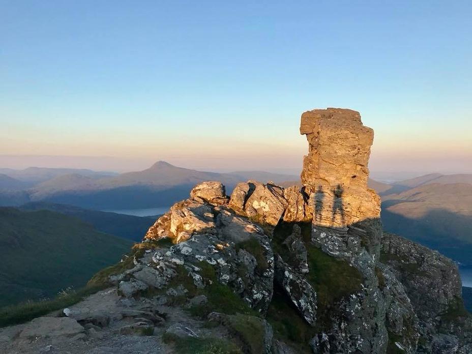 Summit sunset, The Cobbler
