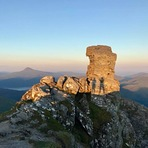 Summit sunset, The Cobbler