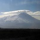 Hasan dağında bulutlar