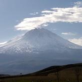 Hasan dağında bulutlar, Mount Hasan