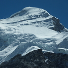 Trace of ascent to Cho Oyu