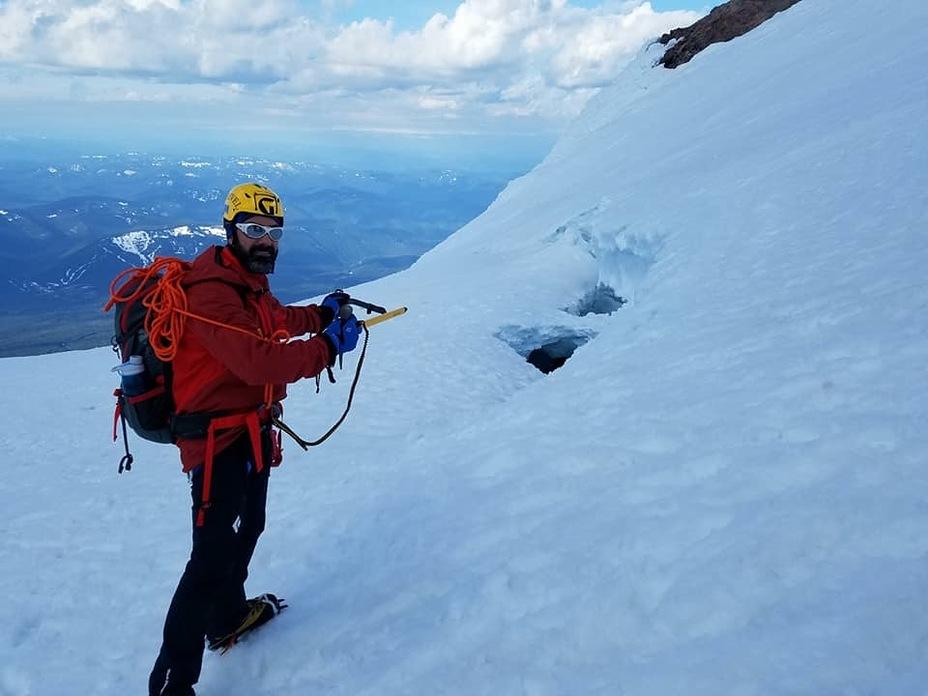 Mircea,s adventure, Mount Hood