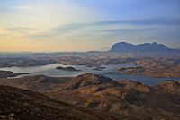 Suilven from Stac Pollaidh photo