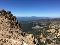 Shasta from Mt. Tehama, Mount Tehama photo