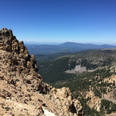 Shasta from Mt. Tehama, Mount Tehama