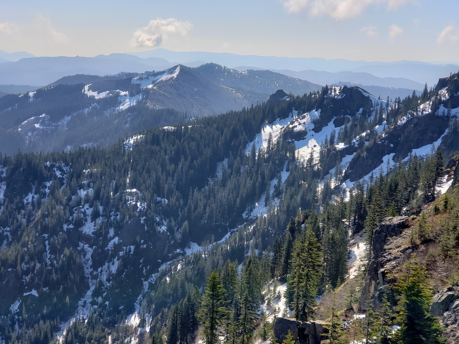 Southwest view from Silver Star Mtn, Silver Star Mountain (Skamania County, Washington)