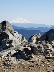 Mt. Saint Helen's as seen from Silver Star mtn, Silver Star Mountain (Skamania County, Washington) photo