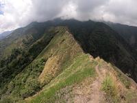Knife Edge trail of Mt. Nangtud, Mt Nangtud photo