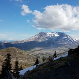 End to a great hiking day, Mount Saint Helens